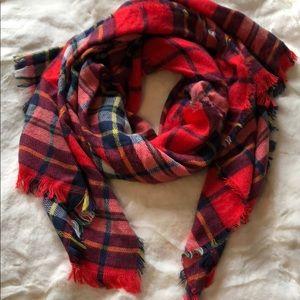 Old Navy 🍂 plaid blanket scarf 🍁